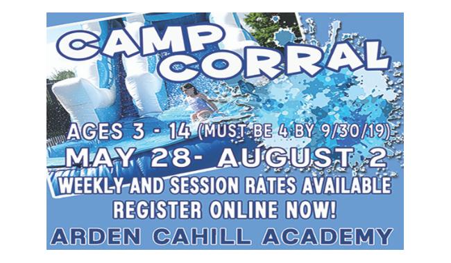 Arden Cahill Academy Camp Corral