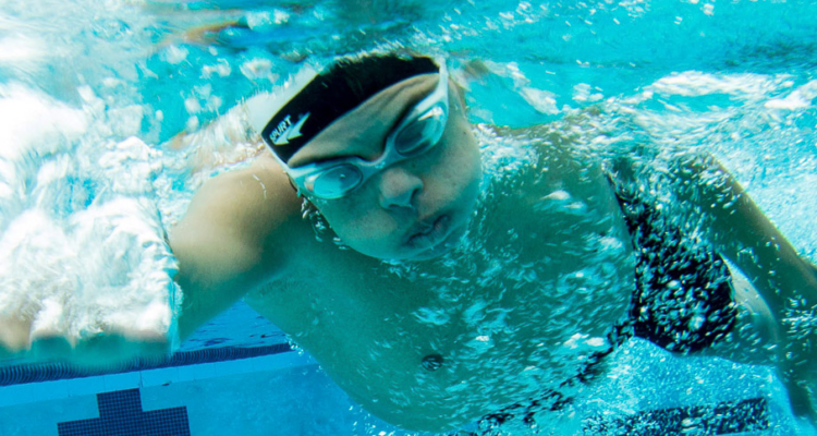 special olympic swimming