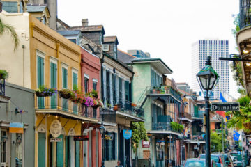 Buildings in New Orleans, French Parents