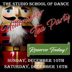The Studio Holiday Nutcracker Tea