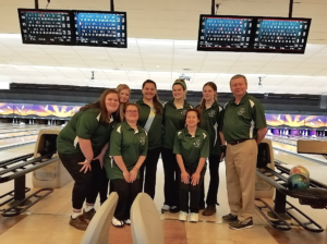 Students from Archbishop Chapelle's Bowling team.