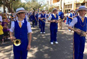 St. Pauls marching band