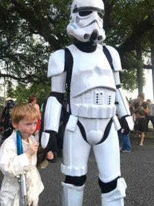 parade kids Luke Skywalker