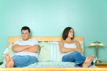 couple with lack of intimacy in the relationship