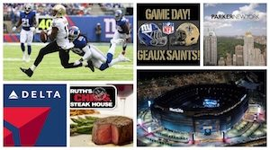 Saints vs. Giants Vacation
