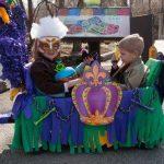 Mardi Gras wagon