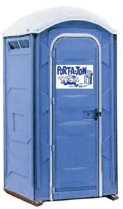 port-a-toilet