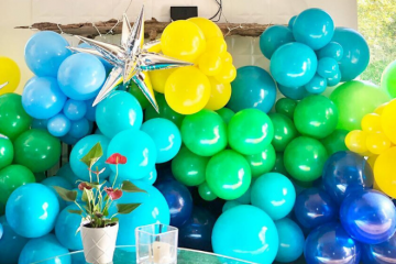 Little Pnuts Toy Shoppe & Party Boutique Balloon Installation