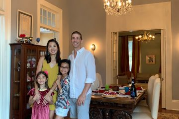 Nola Family September 2020 Mom About Town Eileen Chao and her family